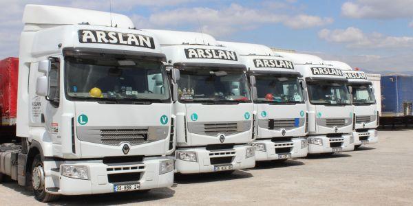 Arslan Nakliyat'ın filosu Michelin güvencesinde