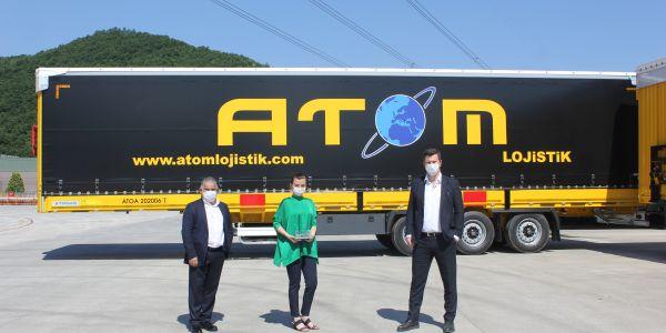 Atom Lojistik filosundaki Tırsan Treyler 400 oldu