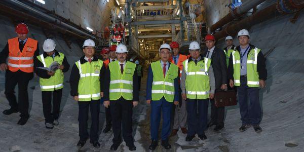 Avrasya Karayolu Tüp Tüneli 2016'da hizmete girecek