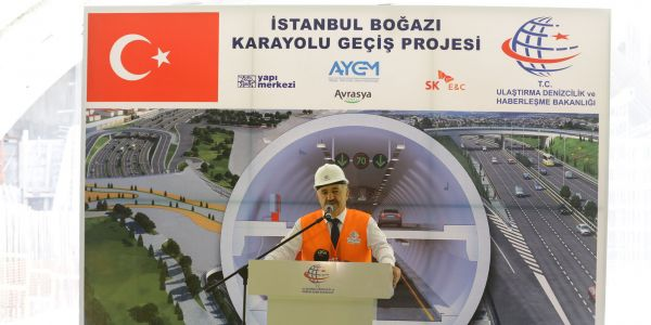 """""""Avrasya Tüneli, Tarihi Yarımada'nın trafik yükünü almaya geliyor"""""""