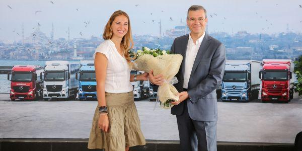 Bahadır Özbayır Mercedes-Benz Türk'e veda etti