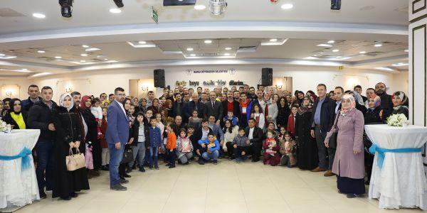Başkan Alinur Aktaş ulaşım ekibi ile buluştu