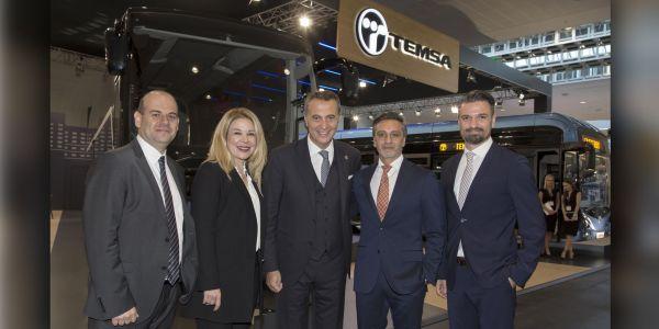 Beşiktaş Başkanı Fikret Orman'dan  TEMSA standına ziyaret