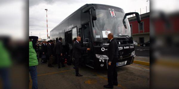 Beşiktaş'ın Napoli mücadelesinde TEMSA yanında