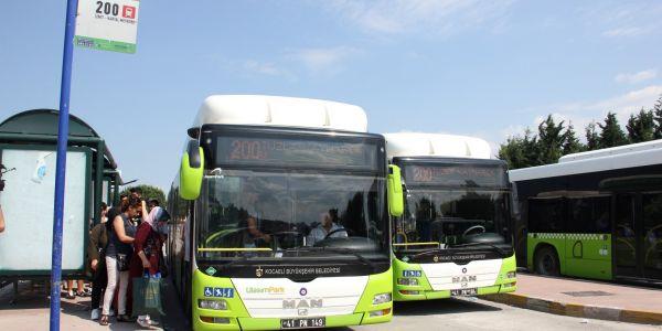 Bir günde 336 otobüsle 82 bin 183 yolcu taşındı