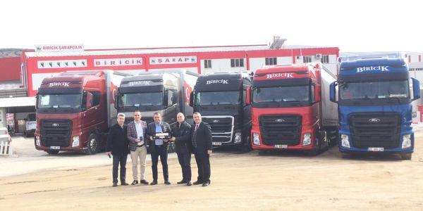 Biricik Grup, Yeni Ford Trucks F-MAX kamyonlarını aldı