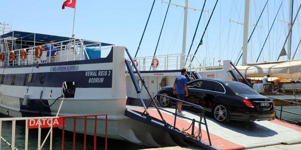 Bodrum-Datça feribot seferleri arttırıldı
