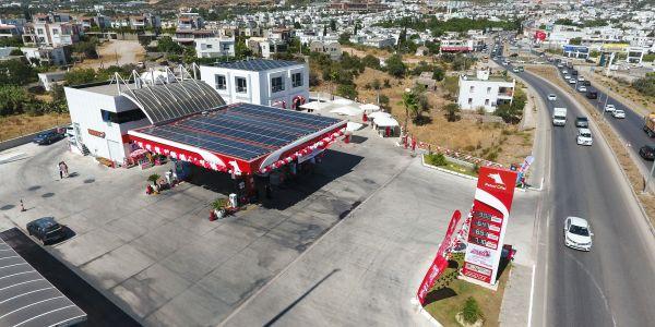 Bodrum'da güneş enerjili istasyon