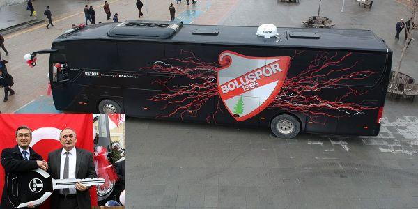 Boluspor'u şampiyonluğa Temsa taşıyacak