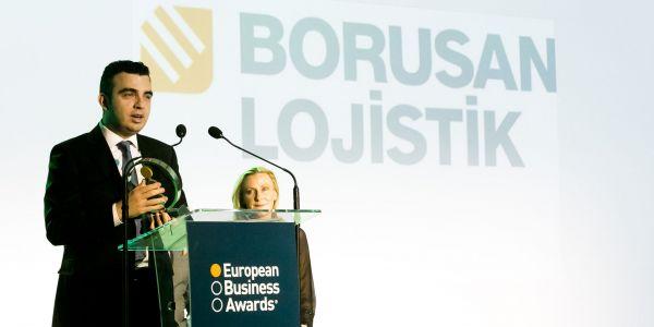 Borusan Lojistik Avrupa İş Ödülünü Kazandı