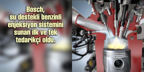 Bosch, yakıt tüketimini %13'e kadar azaltıyor