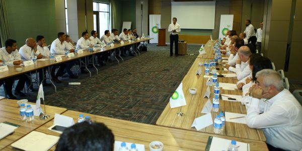 BP Akaryakıt Acentaları eğitim için bir araya geldi