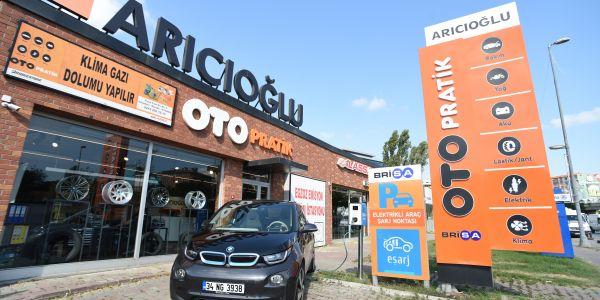 Brisa'dan elektrikli araçlar için ücretsiz şarj hizmeti