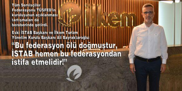 """""""TÜSFED ölü doğmuştur, İSTAB çekilmelidir!"""""""