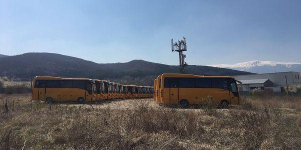 Bulgaristan Eğitimine 27 Isuzu Novo Otobüs