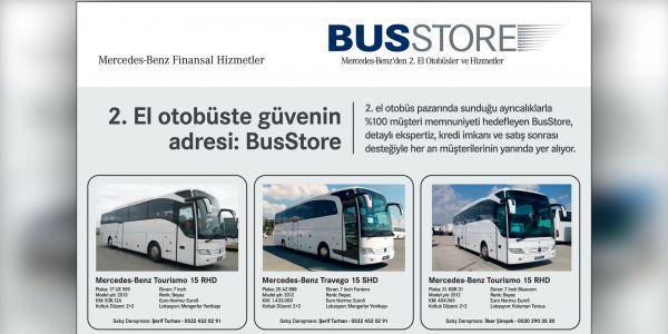 BusStore'da 2.el otobüs ayrıcalığı