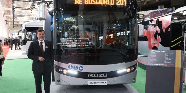 Busworld Fuarı'na 9 aracıyla katıldı
