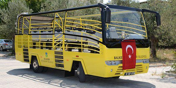 Büyükşehir'den Yazlık Otobüs Hizmeti