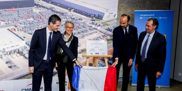 CEVA Lojistik Marsilya Merkezini Fransa Başbakanı açtı