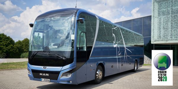 """Coach of the Year 2020"" ödülü MAN Lion's Coach'a"