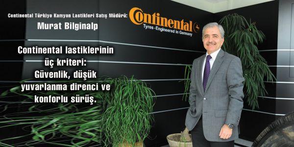 Continental lastiklerinin üç kriteri