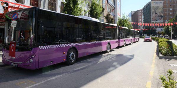 Çorum'a 65 Akia otobüs