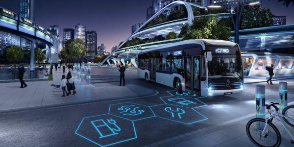 Daimler'in elektrikli otobüsleri Busworld 2019'da sergileniyor