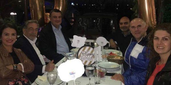 Demirel Turnagöl'e 70 yaş doğum günü kutlaması