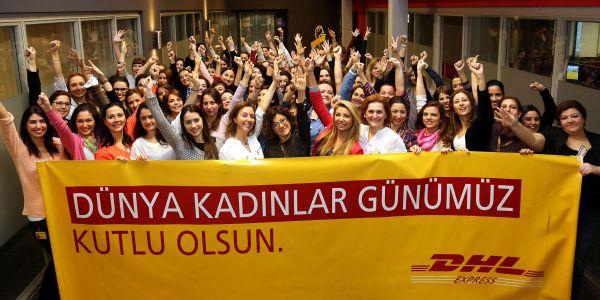 DHL Express Türkiye yöneticilerinin yarısı kadın