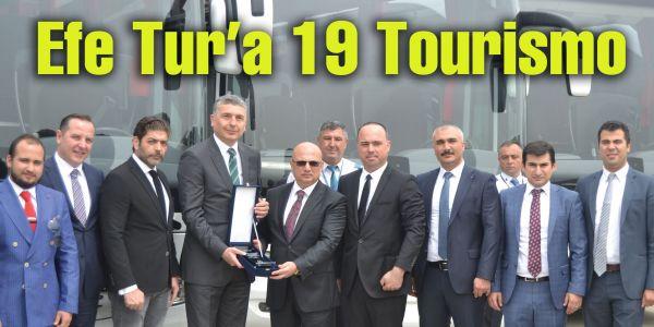 Efe Tur 19 Tourismo aldı