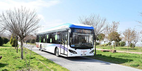 Elektrikli otobüslerin 4,5 aylık çevre raporu: