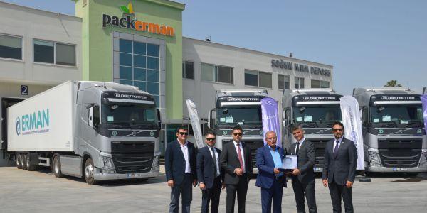 Erman Group 20 Volvo Trucks yatırımı yaptı