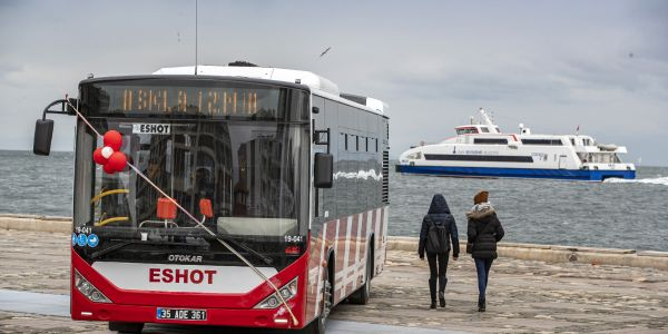ESHOT'un filosundaki Otokar otobüs sayısı 350 oldu