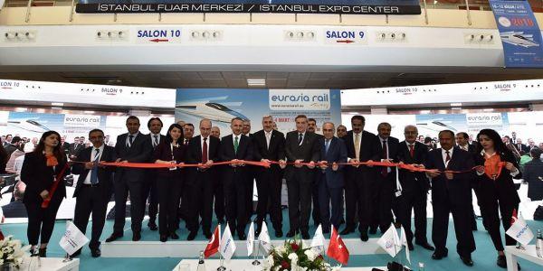 """""""Eurasia Rail 2017"""" fuarı açıldı!"""