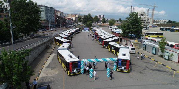 Filosuna 20 otobüs daha kattı