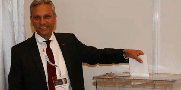 Firuz Bağlıkaya 2510 oy ile yine TÜRSAB'ın başkanı oldu
