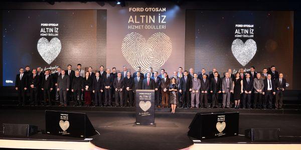 Ford Otosan, 1.000 çalışanını onurlandırdı
