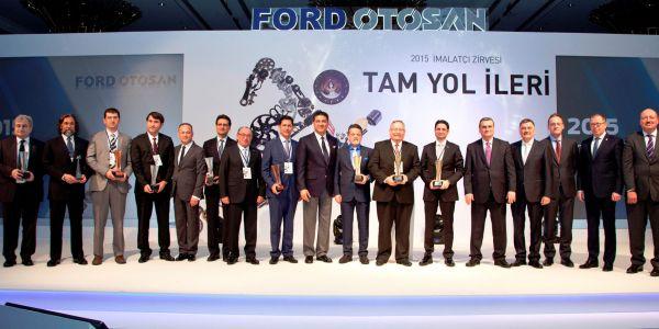 """Ford Otosan, imalatçıları ile """"Tam Yol İleri"""" dedi"""