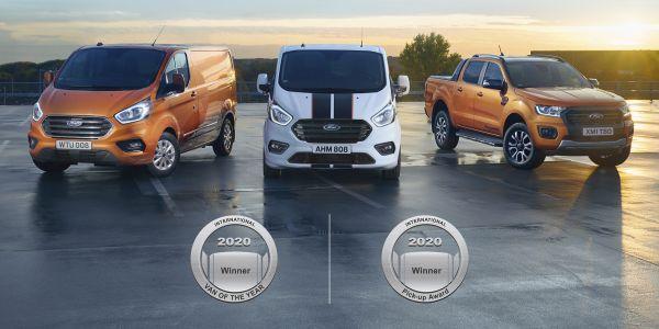 Ford Transit Custom'a ödül