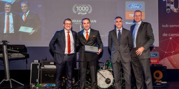 Ford Trucks, Romanya'da 1000 araç satışına ulaştı
