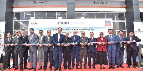Ford Trucks, 4S Plaza Balıkesir'de açıldı