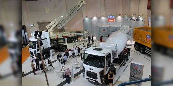Ford Trucks, Beton Fuarı'nda yeni hafifletilmiş mikserini ve inşaat serisindeki yeniliklerini tanıttı
