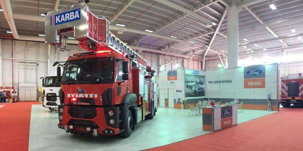 Ford Trucks Konya'da üst yapılı araçlarını tanıttı