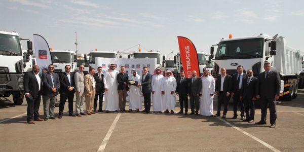 Ford Trucks'dan Suudi Arabistan'a 100 Kamyon