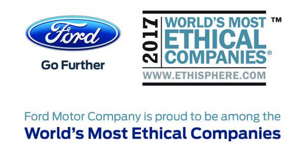 Ford, üst üste 8. kez 'Dünyanın en etik şirketleri' arasında