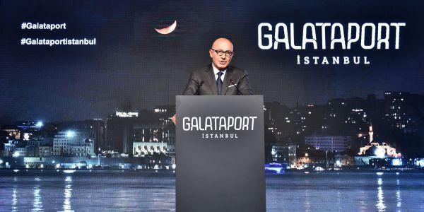 Galataport 7 milyonu turist 25 milyon kişiyi ağırlayacak
