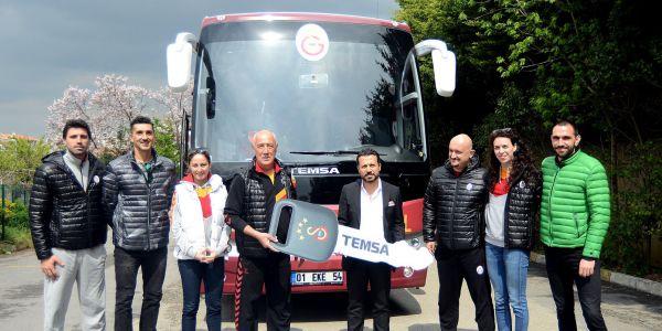 Galatasaray Voleybol Takımı da Temsa ile yol alacak