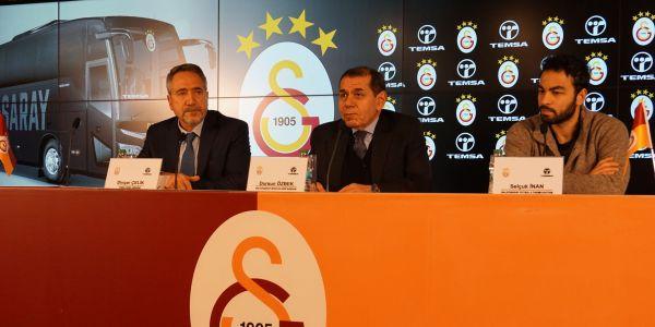 Galatasaray'ın tercihi de TEMSA Maraton oldu