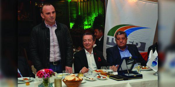 Galip Öztürk'ten Fatih Tamay'a sektöre hoşgeldin yemeği
