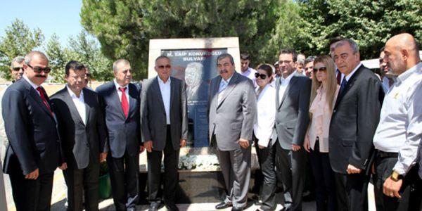 Gaziantep'te Saip Konukoğlu Bulvarı açıldı
